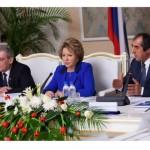 12-13 марта 2014 Визит делегации Совета Федерации во главе с В. Матвиенко в Таджикистан