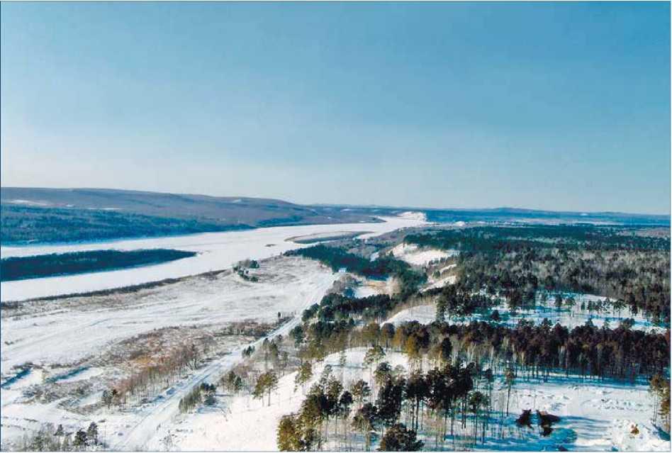 Амурская область. Река Амур в районе Джалинды - граница России и Китая. 2010 г.