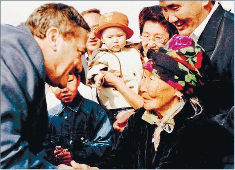 Якутия. Эвено-Бытантайский национальный улус. В с. Батагай-Алыта