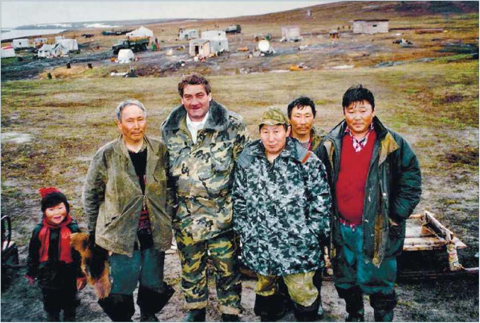 Якутия. Анабарский улус. На рыболовецком участке родовой общины «Буолколах».