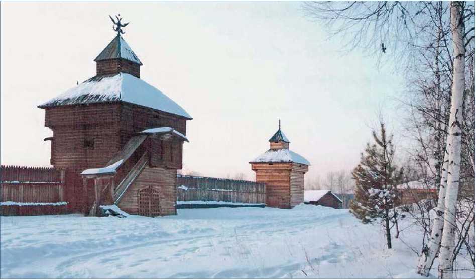 Усть-Илимский острог - форпост освоения Восточной Сибири в XVII веке