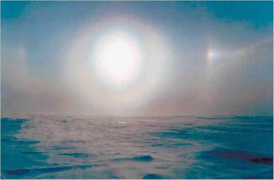 Арктическая ледовая пустыня
