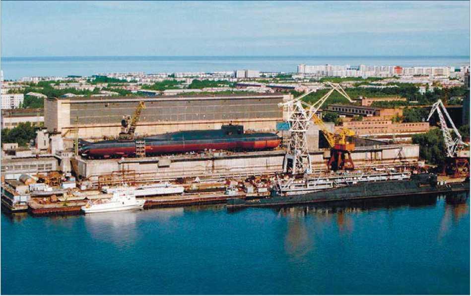 Архангельская область. г. Северодвинск - главный центр судостроения и судоремонта Арктической зоны Российской Федерации.